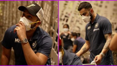 Indian Men's and Women's Squads Leave for England (See Pics)