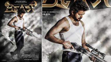 Thalapathy Vijay's Beast Second Look Poster To Be Out On Midnight