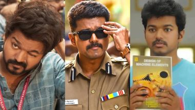 Thalapathy Vijay Birthday Special: From Master to Nanban, 7 Movie Looks of the Superstar That Won Us Over!