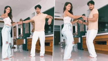 Disha Patani Birthday: Tiger Shroff Wishes His Rumoured Girlfriend With a Dancing Video, Calls Her 'Villain'