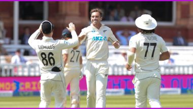 ENG vs NZ, 1st Test 2021 Day 4 Stat Highlights: Tim Southee, Rory Burns Shine on Penultimate Day, Kiwis Maintain Upper Hand