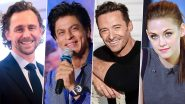 Shah Rukh Khan's Videsi Admirers! Tom Hiddleston, Hugh Jackman, Kristen Stewart – 5 Hollywood Celebs Who Are Fans of King Khan!