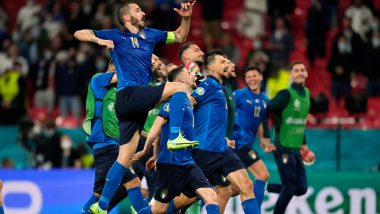 Euro 2020 Day 22 Schedule: Today's Match With Kick-Off Time in IST, Upcoming Fixtures and Live Streaming Details Of Semi-Final Fixtures