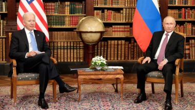 US President Joe Biden Gives Russian President Vladimir Putin Pair of Custom Aviator Sunglasses