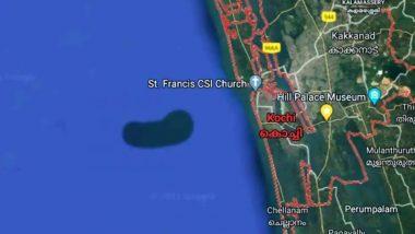Google Maps Shows 'Underwater Island' in Arabian Sea: Is It Plankton Assemblage or Landmass?