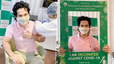 Varun Dhawan Gets the First Dose of COVID-19 Vaccine, Urges Fans to Take the Jab