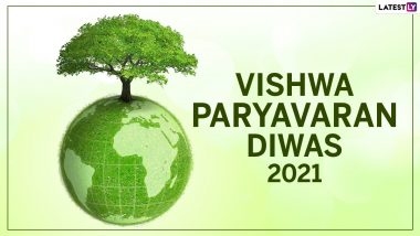 World Environment Day 2021 Images & Vishwa Paryavaran Diwas HD Wallpapers For Free Download Online: Celebrate WED With WhatsApp Sticker Messages and Greetings