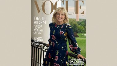 First Lady Jill Biden Featured on the Cover of Vogue's August Edition; Says, Joe Biden Is 'A Calmer President' Than Donald Trump
