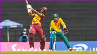 West Indies vs South Africa 4th T20I Live Streaming Online in India: Watch Free Telecast of WI vs SA T20I Match on TV