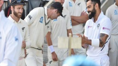 ICC World Test Championship Final 2021: It Will Be Quite Cool Walking Out For the Toss With Virat Kohli, Says Kane Williamson