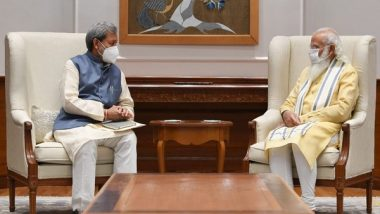 India News | Uttarakhand CM Meets PM Modi, Apprises Him of COVID-19 Situation in State