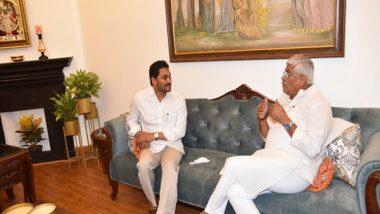 India News   Andhra CM Meets Union Ministers Shekhawat, Javadekar