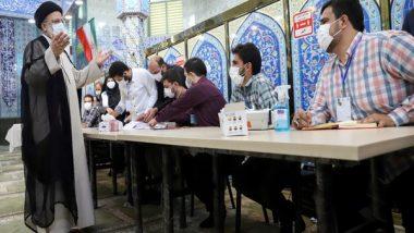 World News | Iran: Voting Underway for New President, Hardliner Ebrahim Raisi Likely to Win