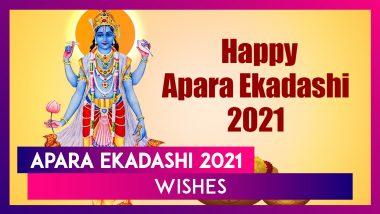 Apara Ekadashi 2021 Wishes: Send WhatsApp Messages, Lord Vishnu Photos and Greetings of the Day