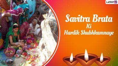 Vat Savitri 2021 Greetings in Hindi for Husband and Wife: WhatsApp Stickers, HD Images, Quotes, Messages and Wishes to Send on Savitri Brata