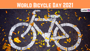 World Bicycle Day 2021: Know Date, History and Significance of the Day That Promotes Cycling