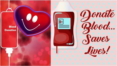 World Blood Donor Day 2021 Quotes & HD Images: Sayings About Blood Donation That Will Motivate You To Save a Life