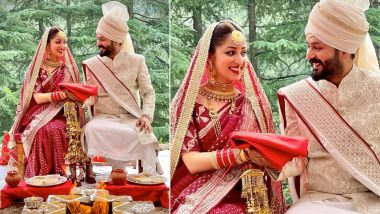 Yami Gautam and Uri Director Aditya Dhar Are Married; Check Out the First Pic of the Newlyweds