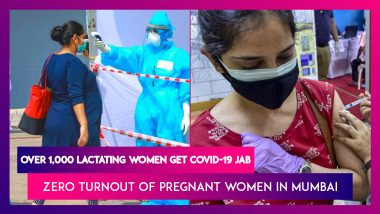 Mumbai Covid-19 Vaccination: Over 1,000 Lactating Women Get Their Vaccine Shots; Turnout Of Pregnant Women Zero