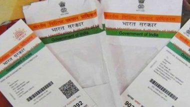 Aadhaar Card Update: How to Change Name in Aadhaar Card Online at uidai.gov.in and Offline Via Local Centre