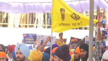 Operation Blue Star's 37th Anniversary: Khalistani Flags, Posters of Bhindranwale Seen at Golden Temple