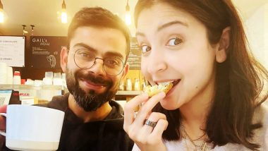 Anushka Sharma and Virat Kohli Take Some Time Out for a Quick Breakfast, Share a Cute Picture on Social Media