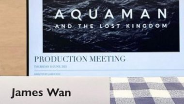 Aquaman 2 Now Has A Title; It Is Called Aquaman And The Lost Kingdom (View Pics)