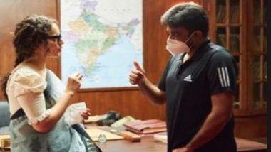 Entertainment News   Kangana Ranaut Extends Birthday Wish to 'Thalaivi' Director Vijay