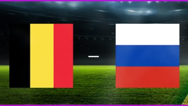 Belgium vs Russia, UEFA EURO 2020 Live Streaming Online & Match Time in IST: How to Get Live Telecast of BEL vs RUS on TV & Free Football Score Updates in India