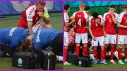 What Happened to Christian Eriksen? Denmark's Mid-Fielder Collapses on the Pitch During Euro 2020 Match Against Finland, Game Suspended