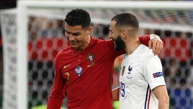 Cristiano Ronaldo and Karim Benzema Swap Shirts During Portugal vs France, Euro 2020; Real Madrid Shares Photos