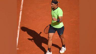 French Open 2021: Defending Champion Rafael Nadal Beats Diego Schwartzman to Enter into Semifinals