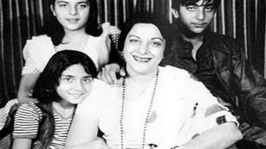 Sanjay Dutt Remembers His Mother Nargis On Her Birth Anniversary, Shares Priceless Family Pictures