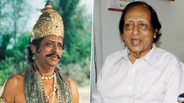 Chandrashekar Dies At 97, He Was Known For His Roles In Ramayan And Cha Cha Cha