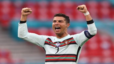 Cristiano Ronaldo Reacts After Shattering a List of Records During Hungary vs Portugal in Euro 2020