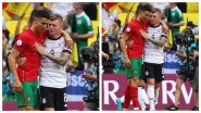 Real Madrid Shares Adorable Photo of Cristiano Ronaldo & Toni Kroos' Reunion During Portugal vs Germany, Euro 2020 (See Pic)