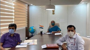 India News | Sitharaman Chairs Meeting to Discuss Infrastructure Roadmap Ahead
