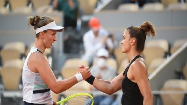 Sports News   French Open: I'm Proud of My Run Here, but It Hurts, Says Maria Sakkari