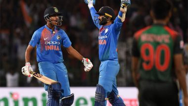 Dinesh Karthik Birthday Special: Fans Trend #HappyBirthdayDK While Sharing Favourite Moments of the Wicketkeeper Batsman