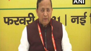 India News   BJP Leader Arun Singh Slams Mukul Roy