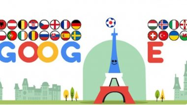 Loved UEFA Euro 2020 Google Doodle? Here's a Throwback to Euro 2016 Google Doodle That Gave Us An Animated Glimpse of Eiffel Tower