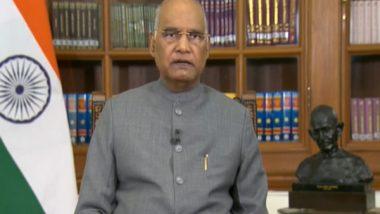 India News   President Kovind Condoles Death of Prof Radha Mohan