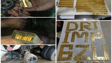 Manipur: Gold Biscuits Worth Rs 20.95 Crore Seized From Car in Imphal, 2 Held