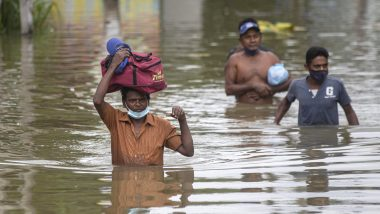 Sri Lanka Floods: 14 Killed in Landslides and Rainfall Related Incidences, Over 2,50,000 People Affected