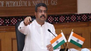India News   Dharmendra Pradhan Dedicates to Nation Jumbo COVID-care Facility in Chhattisgarh
