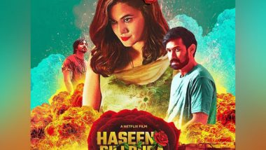Entertainment News | 'Haseen Dillruba' Trailer: Taapsee Pannu Shines in Love Triangle Murder Mystery