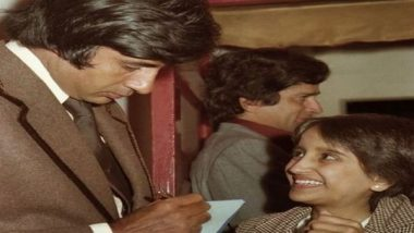 Entertainment News   Amitabh Bachchan Recalls Meeting Fans, Shares Million-dollar Throwback Picture from 'Kala Patthar' Premiere
