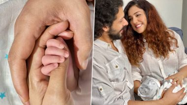 Neeti Mohan and Nihaar Pandya Reveal Their Newborn Son's Name, Share Adorable Pictures of Him