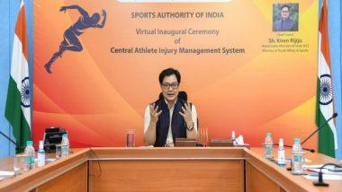 Sports News | Olympics 2024: Rijiju Launches Athlete Injury Management System