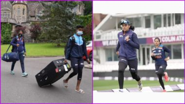 India Women's Cricket Team All Set for 2nd ODI Against England Women (Watch Video)